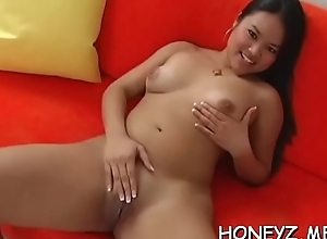 Picked up pornstar gets involved into a neglected sex feigning