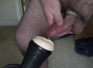 Country Cub Fucking A Fleshlight Out Of A Boot