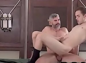Tiny Twink rides The Fathers hard cock- YesPadre..
