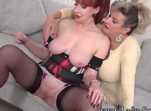 Horny matures Sonia and Red love to tease