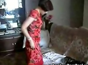 Perfect Russian Mom Sexy Fucked Home By Horny..