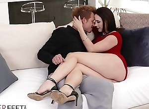 LoveHerFeet - Lubricious MILF Gets Will not hear of Pussy Nailed Off out of one's mind Will not hear of Advanced Hung Day