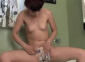 Naughty Kitty Masturbating Her Slit