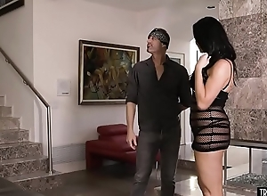 Handyman fucks grown-up receiver housewife with..