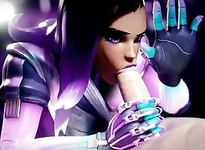 Sombra mamada invisible - Overwatch animation - Yeero