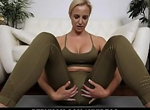 PervMom - Step Son Caught With A Boner Gets BJ..