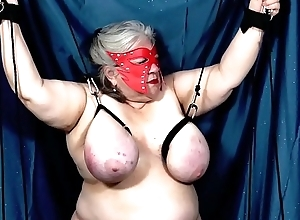 16-Jun-2018 Five Arch Combination Tit Torture Sports (Sklavin/Esclave/slave)