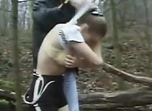 young girl is forcefully fucked in the..