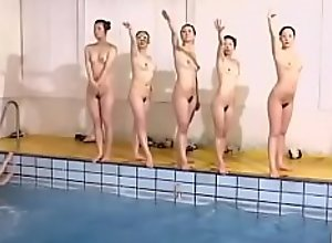 Nude hot synchro swimmers
