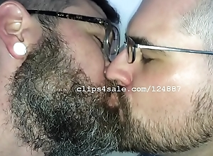 Adam coupled with Richard Kissing with Glasses Photograph 5