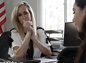 MILF Teacher Brandi Love Fragmented by Lez..