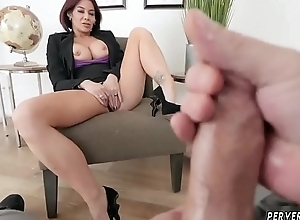 Step mommy catches duddy'_ companion jacking..