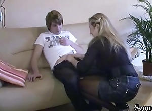 German Mom Advance a earn Mint Step-Son how..