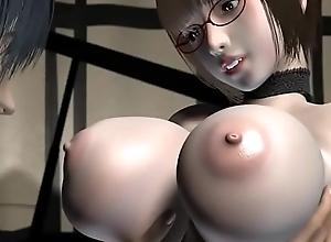 Umemaro 3D - Lewd do a moonlight flit interrupt..