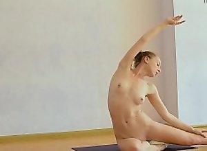 Super hot elastic babe Anna Mostik spreads