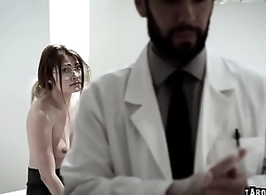 Adria Rae got the brush tight young pussy..