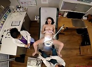 Innocent Shy Teen Lainey Examined By Doctor..