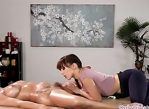 Nance masseuse put to rout hairy pussy