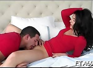 Diverting playgirl with immense ass enjoys a hot casting