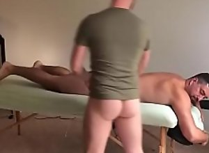 MASSAGE TABLE FUCK WITH CUMSHOT