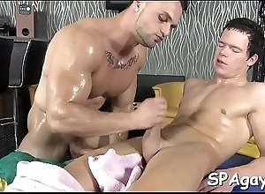 Sexy homosexual guys are having salacious 69..
