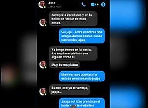 Screenshots Messenger entre la zorra de mi madre..