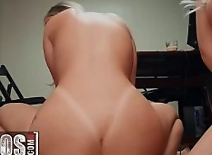 Young (Vienna Rose) shares cock with MILF Casca..