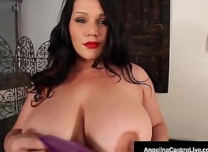 Curvy Cuban Angelina Castro Finger Fucks With 2..