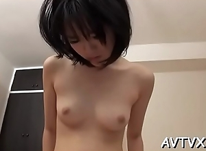 Radiate fingers and toys japanese babe'_s crinkly beaver