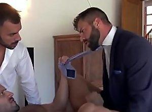 Gay Bearded Threesome
