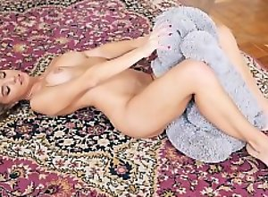 Amazing beauty girl Amber from plushies.tv going..