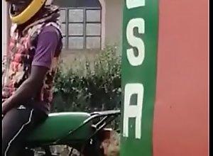 Leaked Kenyan boda boda man mustabating in public