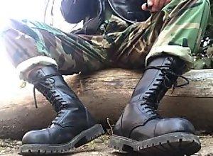 army military smoke leather rangers po**ers wank..
