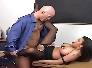 He make the beast with two backs his teacher -..