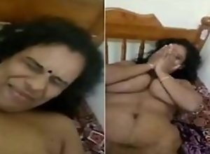 Indian desi milf big boobs ass aunty shy..