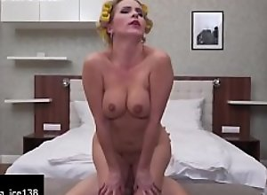 IN ALL HOLES hot mom takes sons cock