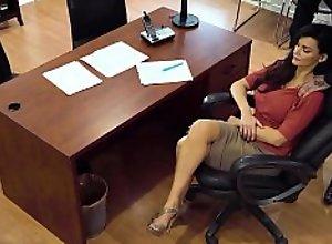Creepy Boss Caught On Spycam! He Won't Stop..