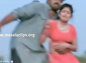 Kannada Actress Tits added to Navel Molested Video