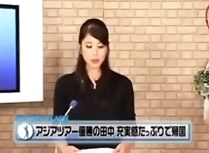 Japanese sports opinion flash anchor fucked..