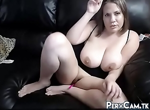 Real Big Jugs Milf Masturbating At bottom Webcam