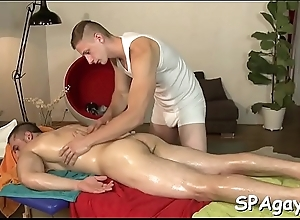 Sensual increased by hot massage session for..