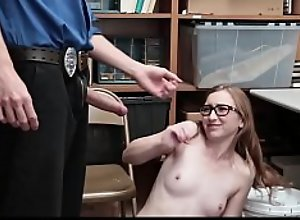 Nerdy Teen Gracie May Green Has Punishing Sex..