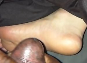Cum on sleeping soles