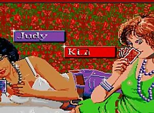ATARI ST Playhouse Strip Poker FROM AN OLD..