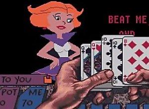 ATARI ST Teenage Queen Jane Jetson Strip Poker..