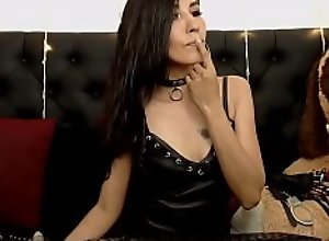 Seductive Chick Jerks Off Firmly  - cam girl..