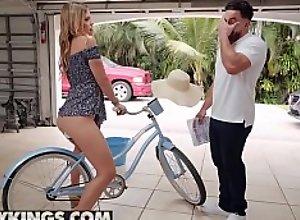 Teens love Huge COCKS - (Leah Lee) - Bicycle..