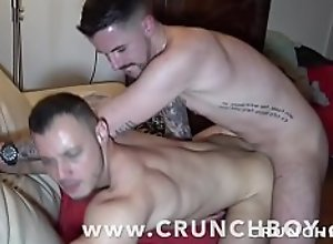 the first gay porn shoot of GUIT GUY the star..
