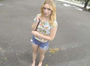 Hot Big Ass Blonde Teen Paid Cash To Fuck..
