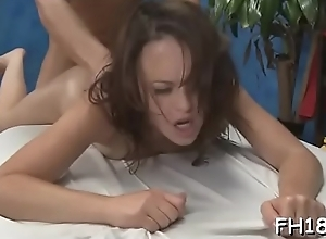 Slut is nailed away from pound one-eyed..